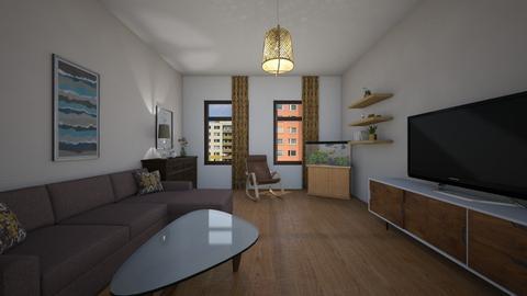 XX - Retro - Living room  - by Twerka