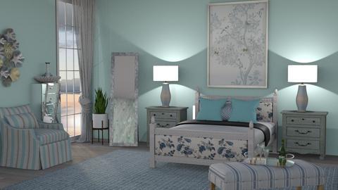 M_ Stripe - Bedroom - by milyca8
