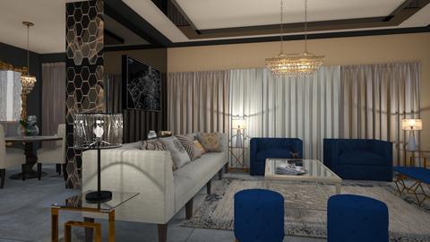 G - Living room - by yonvie
