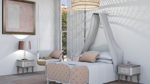 Cute Dorm - Modern - Bedroom  - by Angelic_Cuteness136