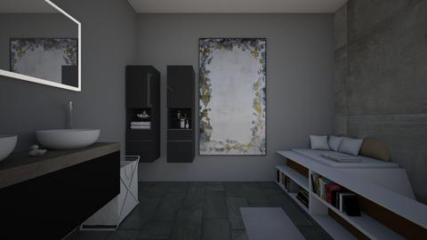 Pop Modern bathroom - Modern - Bathroom  - by PoppsterWopster1235