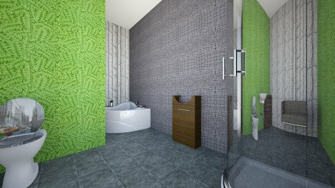 adult bathroom - Glamour - Bathroom  - by Bailey Swenson