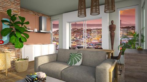 expat - Living room  - by yulamalina