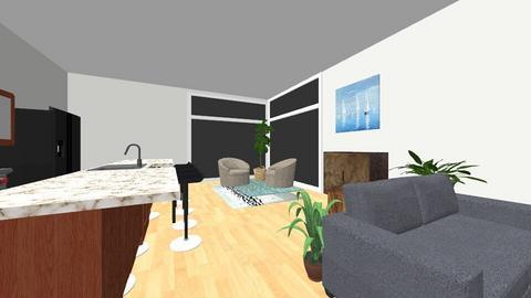 Modern - Living room  - by emehleigh