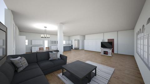 house  - Living room  - by zukko6363