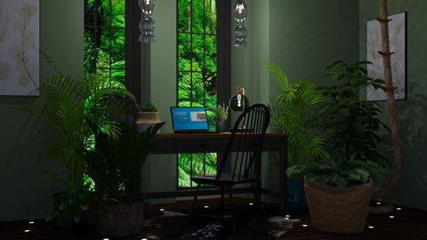 jungle - Office  - by Sirtzuu93