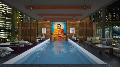 Luxury Thai Restaurant - Global - Kitchen  - by bgref