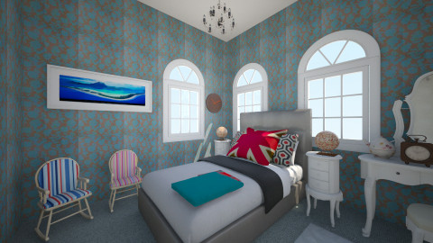 London Bedroom 2 - Vintage - Bedroom  - by ra101