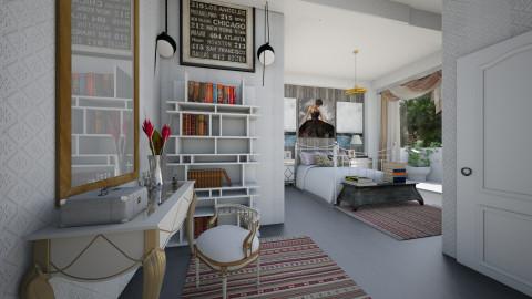 Roberta - Bedroom  - by Sama Elhendy