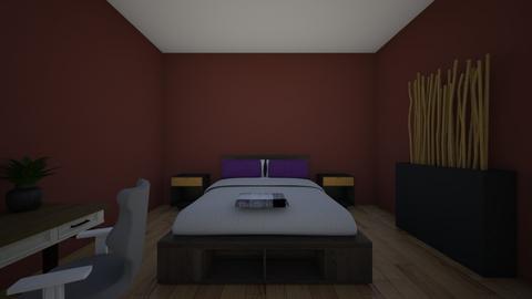 cuarto minimlista - Modern - Bedroom  - by griffff