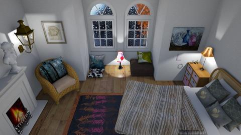 Rainy Dream - Classic - Bedroom  - by Tea B Solvo