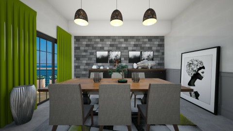 orit4677 - Dining room  - by Orit Sander