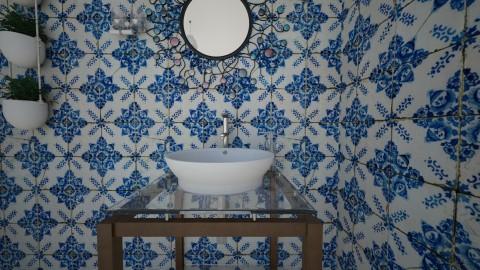 VintageArtBathroom mirror - Vintage - Bathroom  - by yaizalloriginal