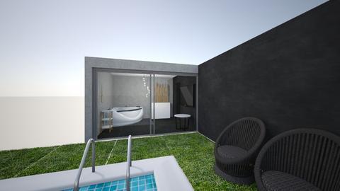 Badkamer 23_04_2021 - Modern - Bathroom  - by Rosalie21