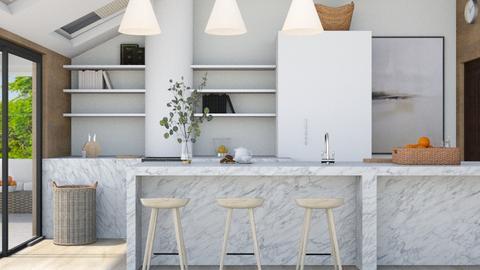 Modern Cottage Kitchen - Modern - Kitchen  - by Ninora