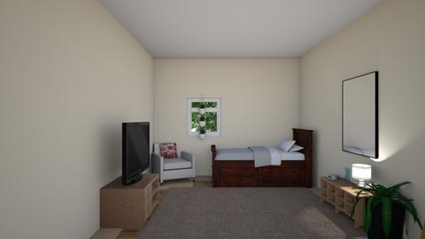 dorm - Bedroom  - by FROG MAN