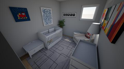 Nursery Example Grey - Kids room  - by mgeiger