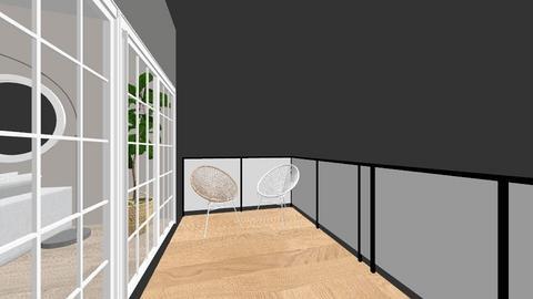 SCHOOOL EXAMEN  - Living room - by Michelledgraaf
