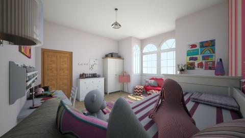 girls room - Kids room  - by tswiz