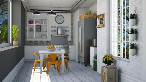 Pequena Cozinha - Kitchen  - by Sanare Sousa