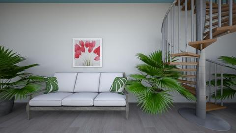 Urban Jungle Hallway - Garden - by hi my name is bob