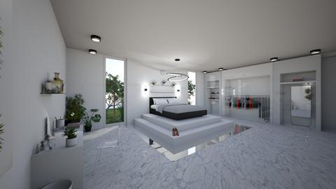 Black and White - Modern - Bedroom - by kkx13