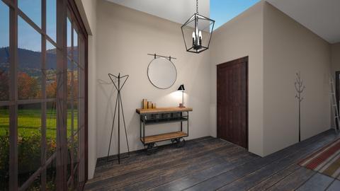 Foyer and Hallway - by meyerzoe