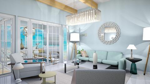Beachy Living Room - Living room  - by zschmitt