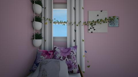 Butterfly Bedroom - Bedroom  - by E21