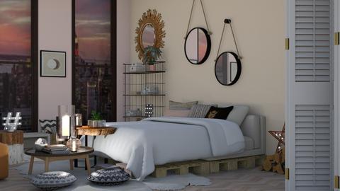 Template Living - Bedroom  - by MillieBB_fan