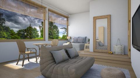 Japandi - Living room  - by daydreamer84