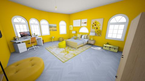 Yellow Bedroom - Bedroom  - by Chayjerad