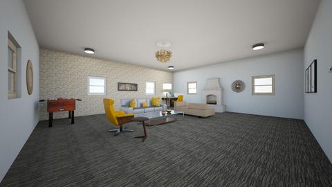 Red Carpet Inspired Room  - Modern - Office  - by lidanyd