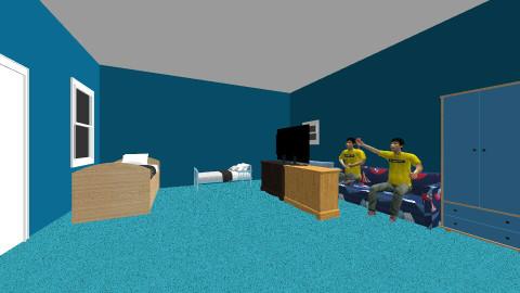 my brothers room - Kids room - by Leah Cuadrado