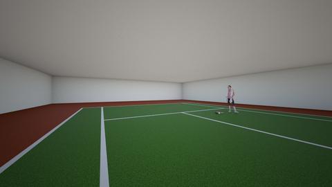 tennis court - by 29catsRcool