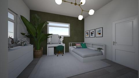 dream room project - Modern - Bedroom  - by moon005