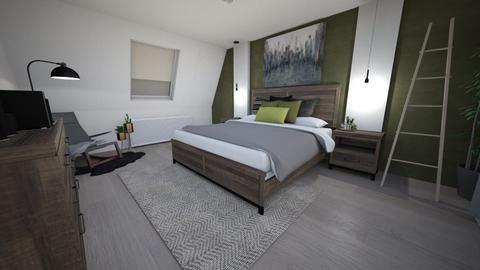 zoldszoba - Modern - Bedroom  - by vagopetra