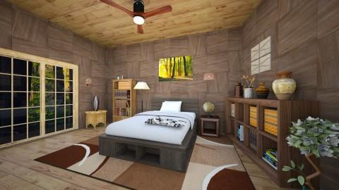 Wood - Vintage - Bedroom  - by ljiljanan