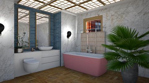 Modern Eclectic Bath - Modern - Bathroom  - by 3rdfloor