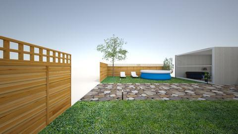 2 - Garden  - by ninaka2000