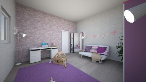 Projekt 3 - Kids room  - by Paulika