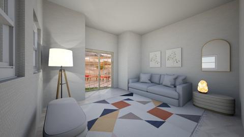 boho vibe living room - Modern - Living room  - by pineapplesiesie