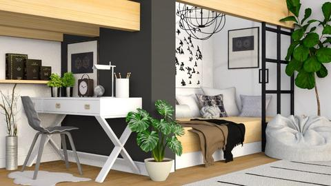 Modern Bedroom - Modern - Bedroom  - by millerfam