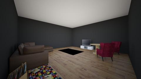 Keily Myers - Living room  - by keilym