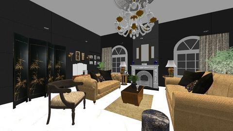 art deco - Glamour - Living room  - by minty_builds