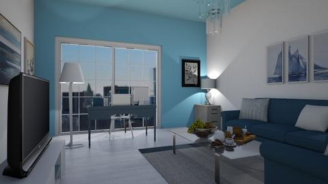 Blue Office - Modern - Office  - by Agamanta
