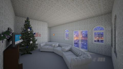 christmas snow day - Living room  - by romacandy