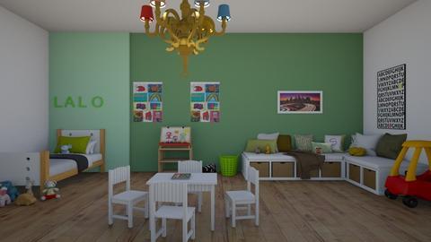Lalos room  - Kids room  - by notyou