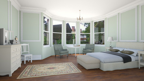 estilo adam - Classic - Bedroom  - by Gabriela Pons