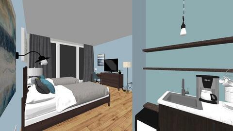 Hotel Room - by katelindsayy22